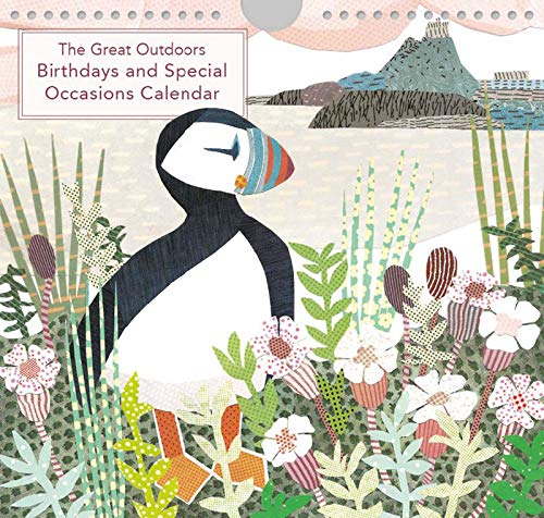 The Great Outdoors : Jane Robbins Birthdays and Special Occasions Perpetual Calendar