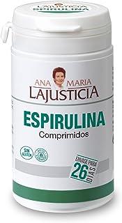 comprar comparacion Ana Maria Lajusticia - Espirulina – 160 comprimidos fuente de proteínas, vitaminas y minerales. Detox y saciante. Apto par...