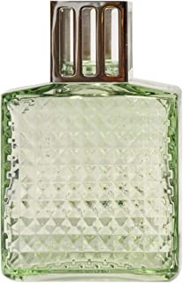 Lampe Berger Model Diamant - Green - Glass - Home Fragrance Diffuser - 2 x 4 x 5 inches