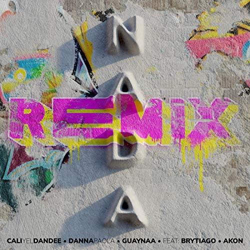Cali y el Dandee, Danna Paola & Guaynaa feat. Brytiago & Akon