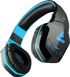 boAt Rockerz 510 Wireless Bluetooth On Ear Headphones with Mic (Furious Blue)