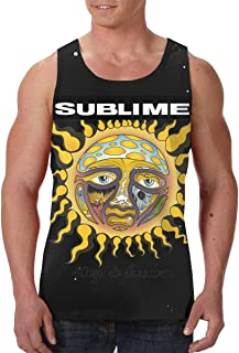 AvisN Men's Sublime 40oz to Freedom Basic Muscle Tank Top Jersey