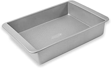 USA Pans Bakeware Lasagna and Roasting, Warp Resistant Nonstick Baking Pan, Made in The USA from Aluminized Steel, Deep