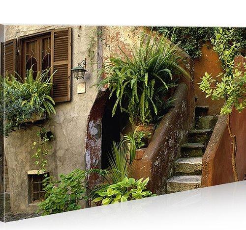 islandburner Bild Bilder auf Leinwand Toskana 1p Italien XXL Poster Leinwandbild Wandbild Dekoartikel Wohnzimmer Marke