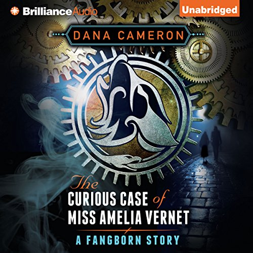 The Curious Case of Miss Amelia Vernet audiobook cover art