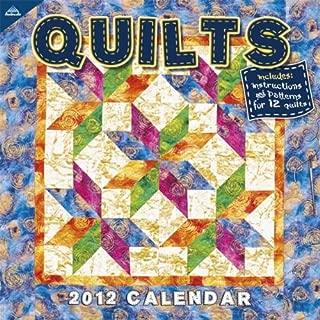 2012 Quilts 12X12 Wall calendar