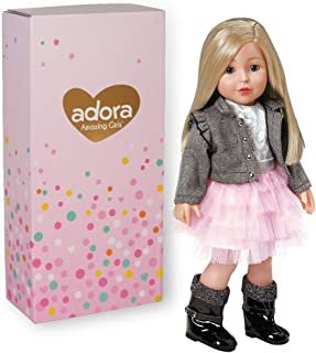 Adora Amazing Girls 18-inch Doll, ''Harper'' (Amazon Exclusive)
