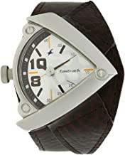 Fastrack Men's 3022SL01 Casual Brown Leather Strap Watch