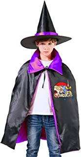 Thundercats Animated Series Unisex Kids Hooded Cloak Cape Halloween Party Decoration Role Cosplay Costumes Outwear Purple