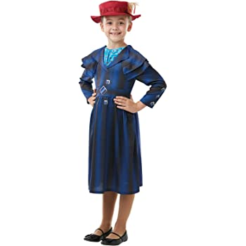 Rubies Disfraz oficial de Disney Mary Poppins de la película ...