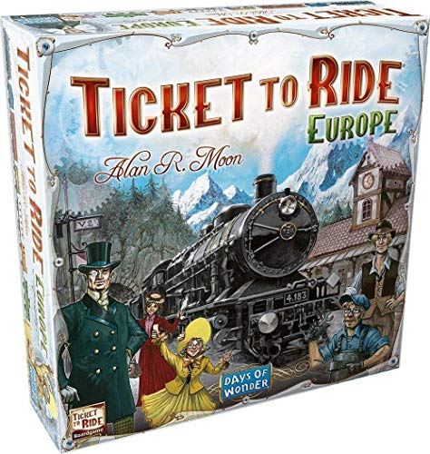 Days of Wonder - Aventuriers du rail Europe - Ticket to Ride Europe - Version Anglaise