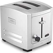 All-Clad TJ802D50 Stainless Steel Toaster with 6 browning selection, 2-Slice, Silver