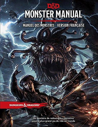 D&D Monster Manual – Manual de los Monstruos – Versión francesa – 5ª edición