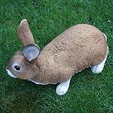 Dekofigur Hase Kaninchen Tierfigur Gartenfigur Wildkaninchen Zwerghase - 2