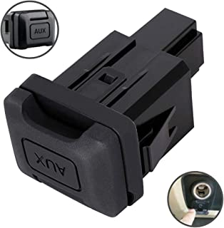 Auxiliary Input Jack Aux Port for Honda Civic 2006 2007 2008 2009 2010 2011 Stereo Adaptor Replaces Part 39112-SNA-A01 39112SNAA01