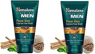 Himalaya Men Power Glow Licorice Face Wash 100 Gm each (Pack Of 2)