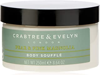 Crabtree & Evelyn Pear and Pink Magnolia Body Souffle, 250 milliliters