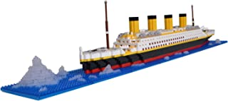 LULUFUN Titanic Ship Model Building Block Set, DIY Nano Micro Building Blocks Toys ,Educational Toy, Gift for Adults and C...