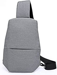 Yiwa Chest Back Pack Men Messenger Sling Bag Outdoor Women Shoulder Cross Body Bags for Ipad Pro Air 2 Mini Unisex