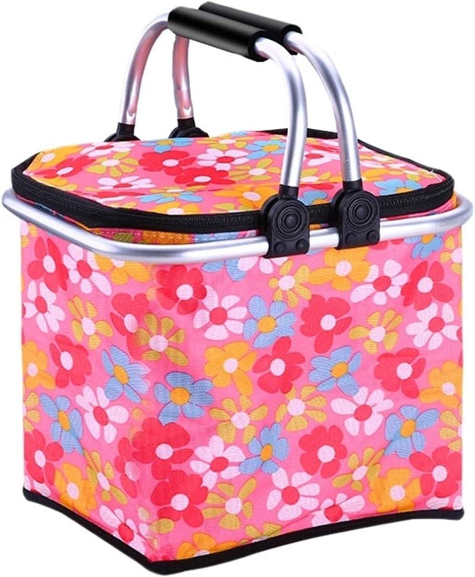 Oxford Cloth Picnic Max 58% OFF Be super welcome Basket Foldable Portable Insul Hamper