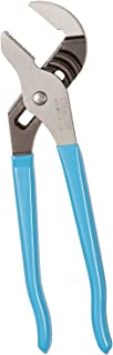 Channellock 430 Tongue and Groove Pliers | 10-Inch Straight Jaw Groove Joint Plier with Comfort Grips | 2-Inch Jaw Capacity | Laser Heat-Treated 90° Teeth| Forged from High Carbon Steel | Made in USA