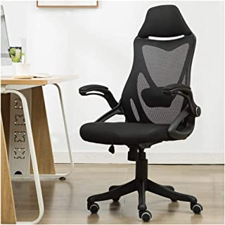 High Back Mesh Office Chair Gaming Chair with Adjustable Armrest Lumbar Support Headrest Video Game Chair Racing Office Chair … (BLACK1)