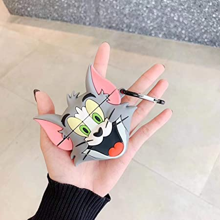 Jerry Tom and Jerry AirPods Accessory |Tom Key Ring Air Pods Key Chain Key Chain