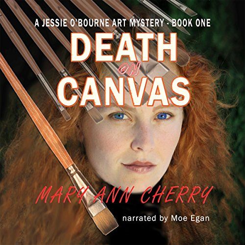 Death on Canvas audiobook cover art