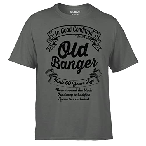 Brandevo 60th Old Banger Mens Birthday T Shirt XX Large