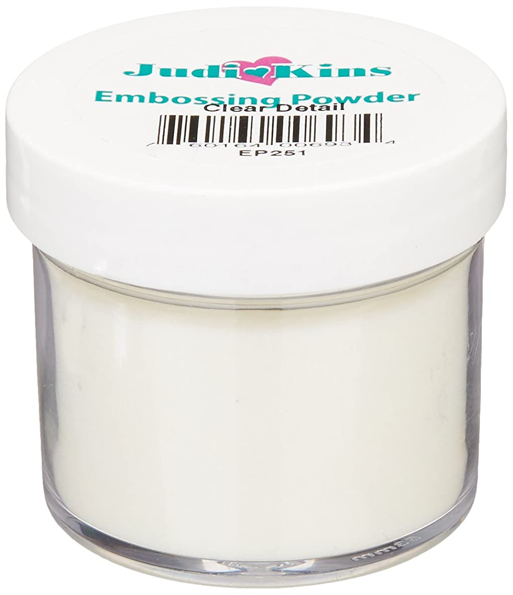 Judikins EP2-51 Embossing Powder, 2-Ounce, Detail Clear