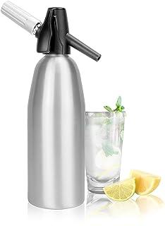 1L aluminiumsoda Siphon | Fizz Maker | Soda Machine | Seltzer Water Creator | Dispenser för kolsyrat vatten | Fizzy Bevera...