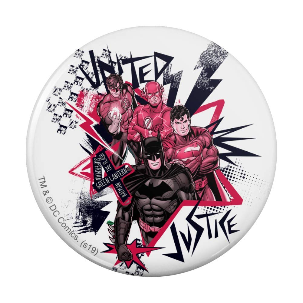 Justice Many popular brands League Red and Black Purse Pocket Compact Han Characters 1 year warranty