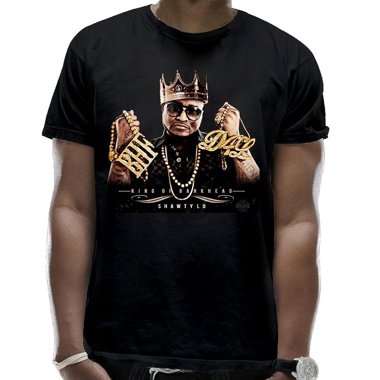 Private Custom Men Shawty Lo King of Bankhead Full Mixtape Scoop Neck Classic T Shirts