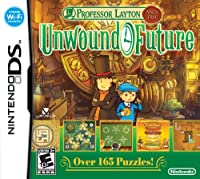 Professor Layton Unwound Future(street Date 09-12-