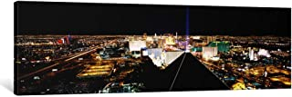 iCanvasART 1 Piece High Angle View of a City from Mandalay Bay Resort and Casino, Las Vegas, Clark County, Nevada, USA Can...
