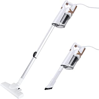 Vacuum Cleaner, DOFLY 2 in 1 Corded Stick Vacuum 14000pa Powerful Suction with HEPA Filter Large-Capacity Dust Cup Lightwe...