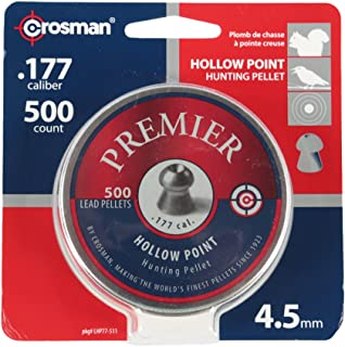 Crosman Hollow Point Pellets, 0.177-Calibre, 500 Count