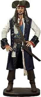 Queens of Christmas WL-PRT-JACK-06-6 6' Jack Crow Pirate Figurine,