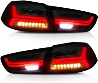 VLANDNew Item LED TailLights taillamp rearlight for Mitsubishi Lancer/EVO X 2008-2017 LED Tail LAMP Black Projector with ...