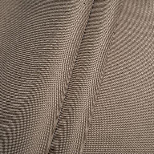 Erstklassiger Polyester Oxford 250D 1lfm - Wasserabweisend, Winddicht, Outdoor Stoff, Gartenmöbel Stoff (Beige)