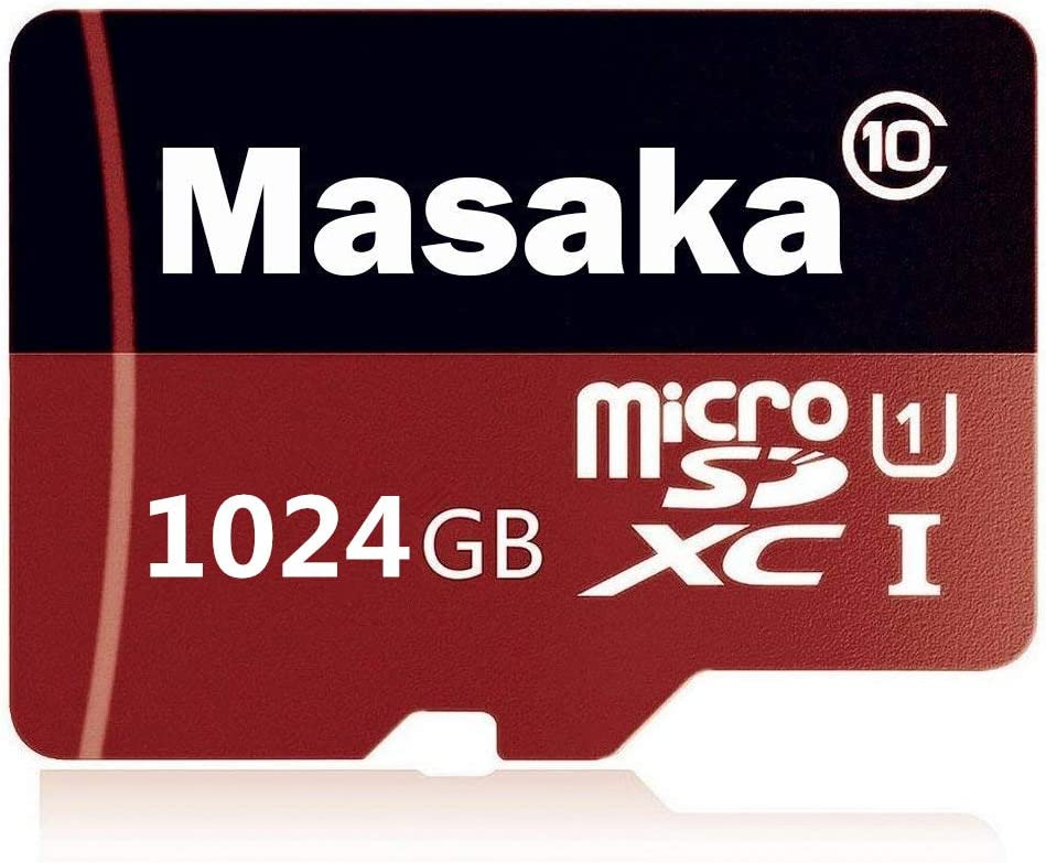 1TB Micro SD SDXC Card High Speed Class 10 Memory SD Card with Free Adapter