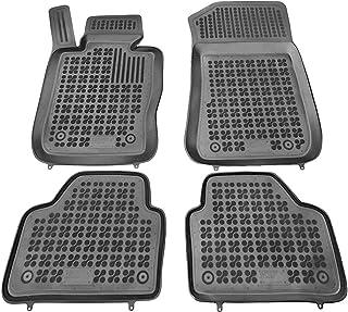 Rezaw-Plast Alfombrillas de Goma Compatible con Seat ATECA Desde 2016 + Limpiador de Plasticos   Accesorios Coche Alfombrilla Suelo Regalo