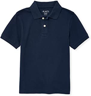 The Children's Place Boys' Uniform Pique Polo