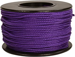 Atwood Rope MFG Micro Cord 1.18mmx 125', Purple  Made in USA