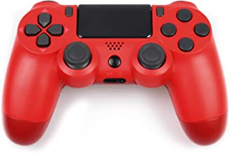 Wireless Controller for PS4, PS4 Game Controller Remote for Sony Playstation 4 with Built-in Speaker, Six-axis Gyro and Du...