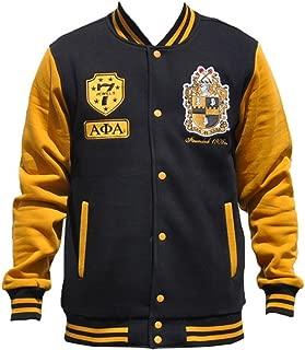 Alpha Phi Alpha Fraternity Men's Fleece Jacket Black/Gold