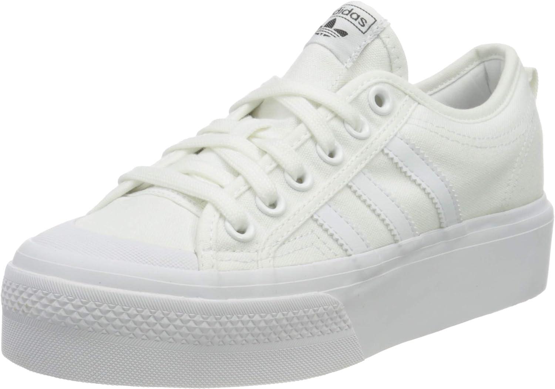 adidas 結婚祝い Originals Nizza Synthetic Platform 日本未発売 White