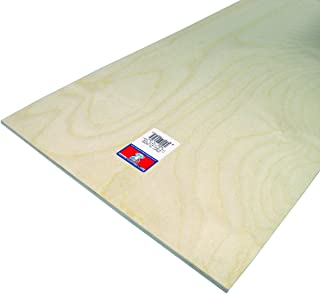 Midwest Products 5316 Craft Plywood, 12 by 24 by 0.25-Inch, 6-Pack