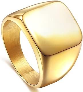 Best signet ring gold mens Reviews