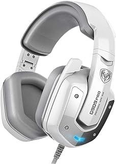 Fone de ouvido SOMIC G909PRO 7.1 com som surround virtual USB para jogos sobre fones de ouvido de baixo para PC, PS4 com m...